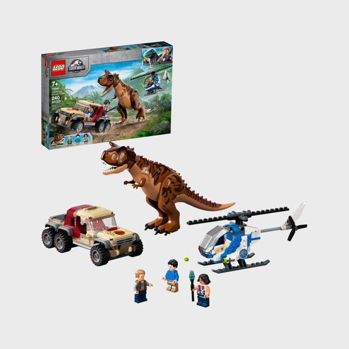 Jurassic World Carnotaurus Dinosaur Chase Lego Set