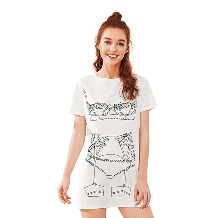 Lingerie T Shirt