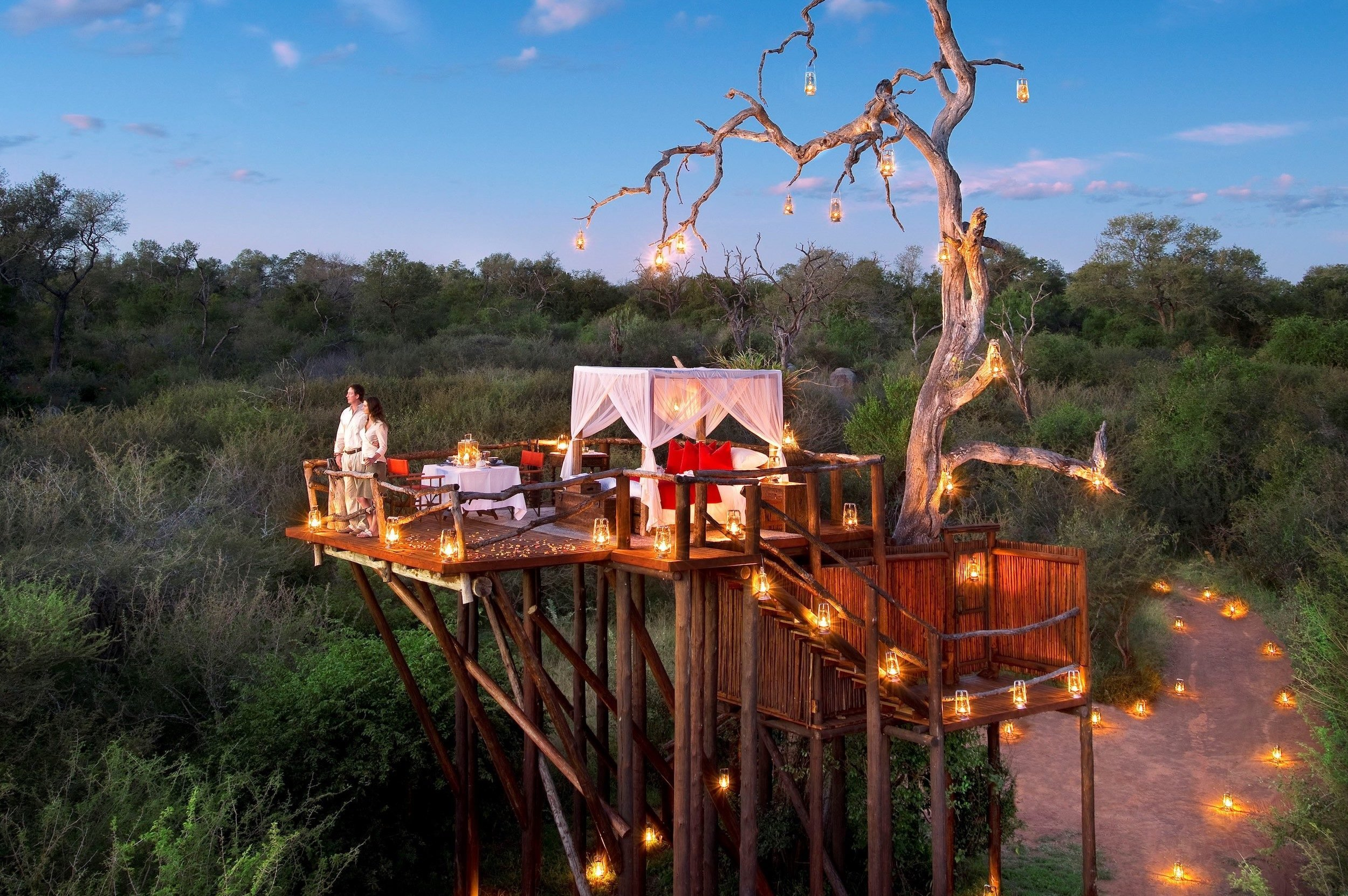 lion sands private game reserve tree house hotels