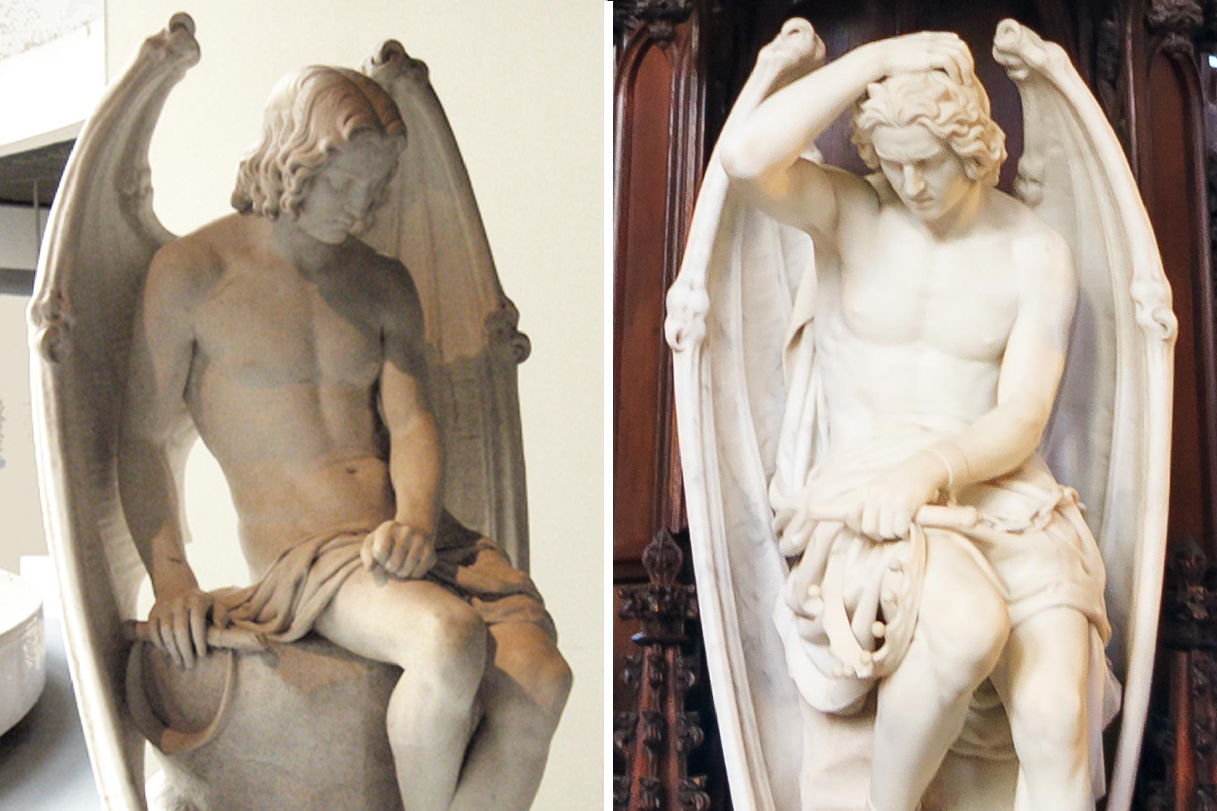Hidden feature in famous statue