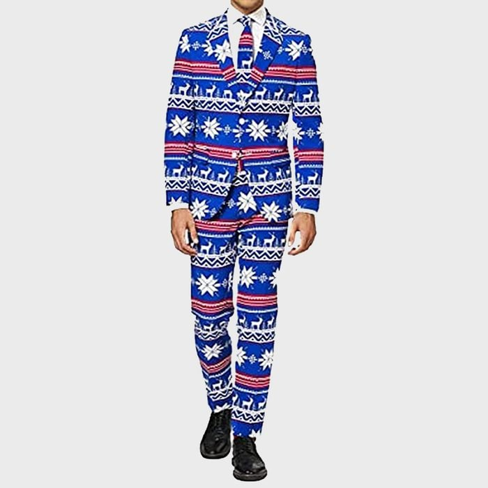 Opposuits Fun Ugly Christmas Costume For Men