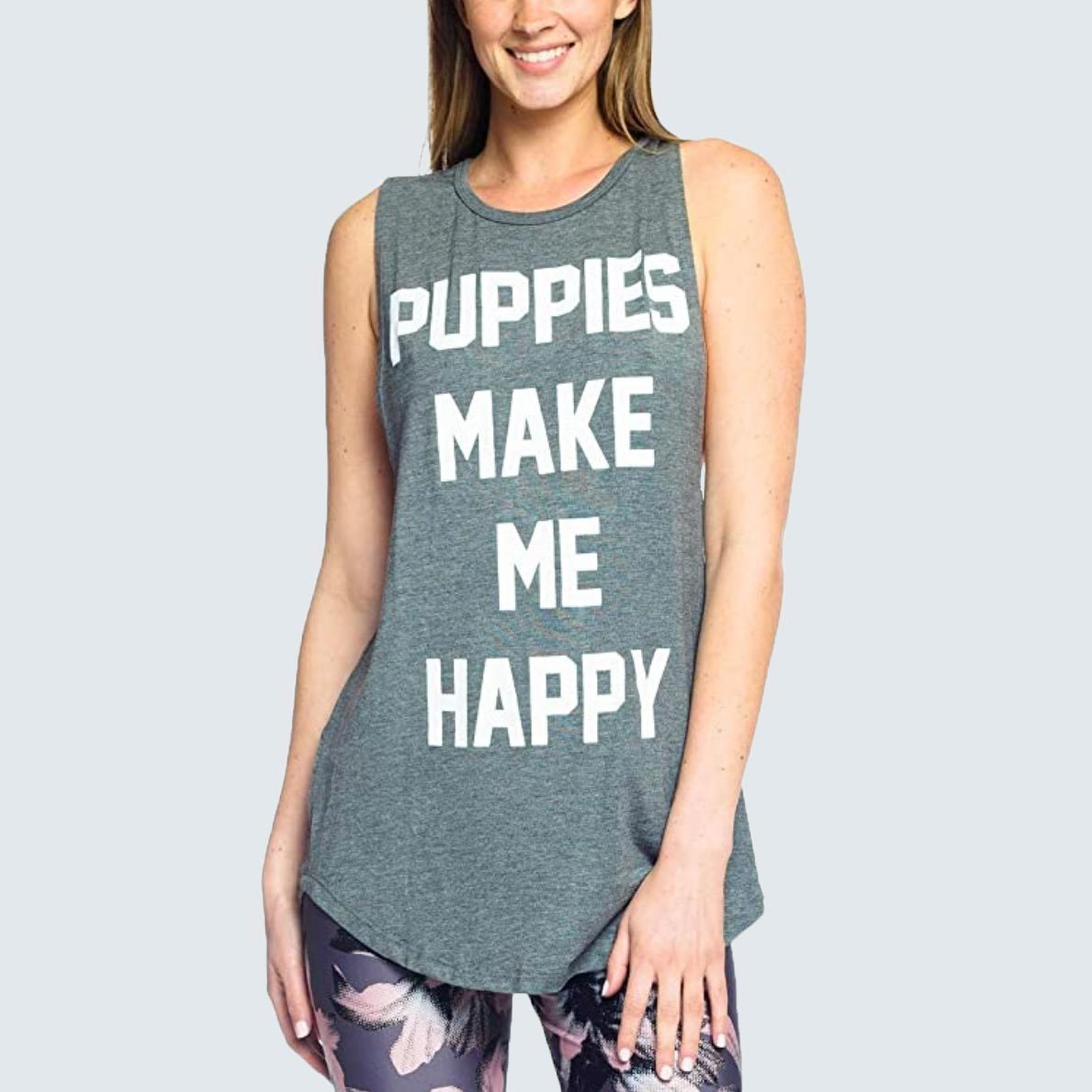 Puppies Make Me Happy T-Shirt