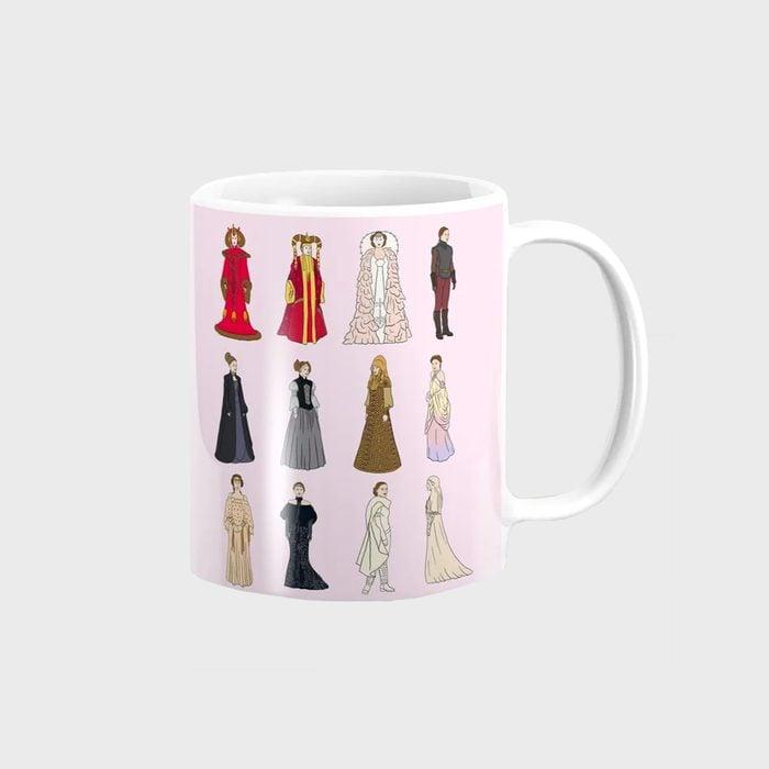 Padme Amidala Outfits Coffee Mug
