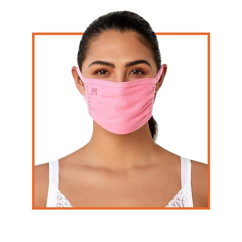 Ruby Ribbon Face Covering