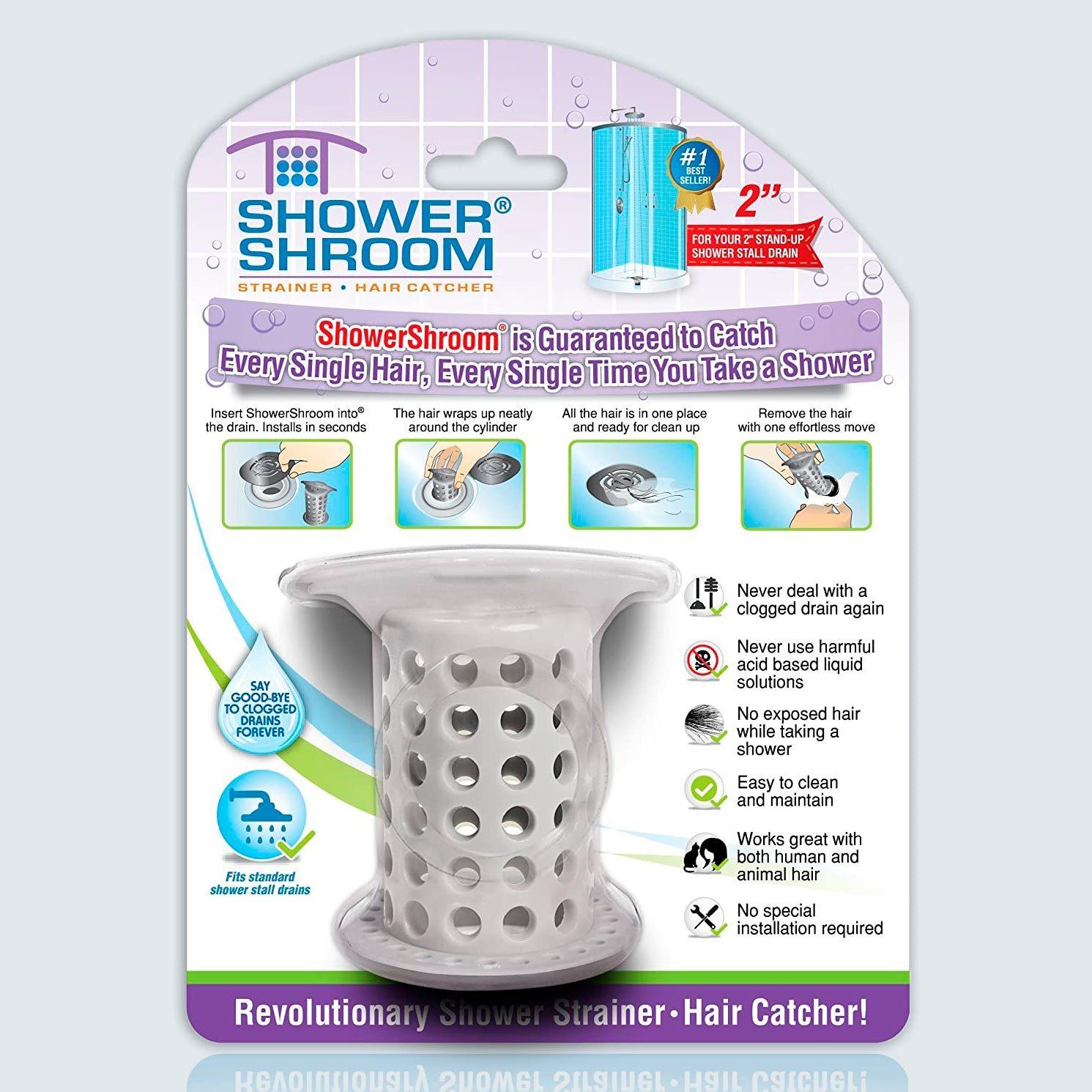 ShowerShroom Stall Drain Protector