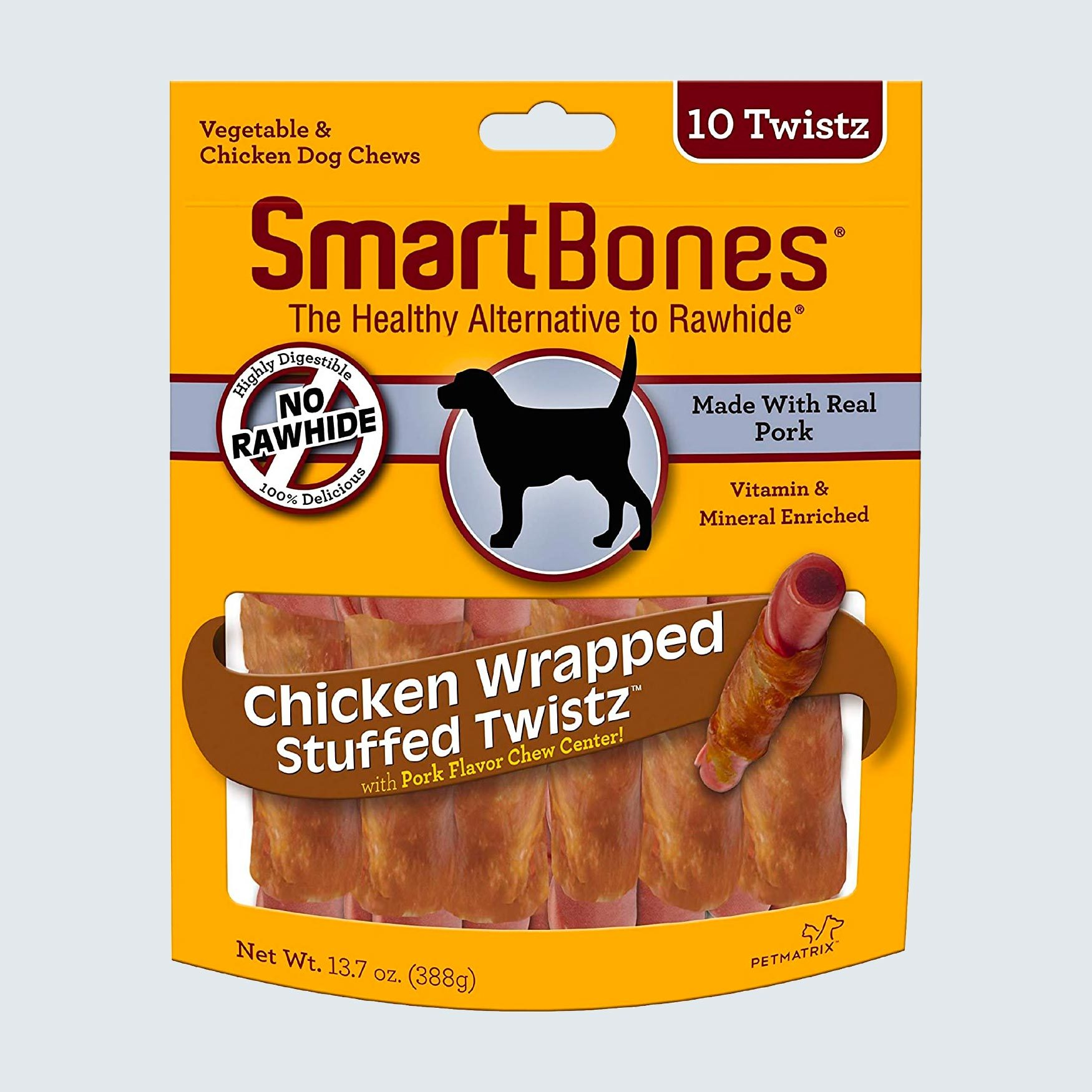 Smartbones Chicken Wrapped Stuffed Twistz