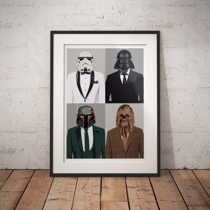 Star Wars Inspired Print