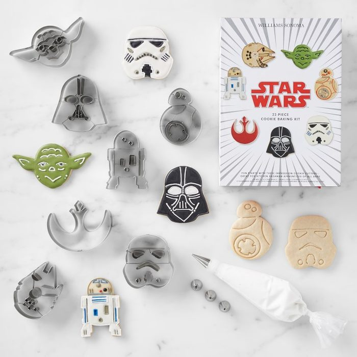 Star Wars Stainless Steel Boxed Cookie Cutter 22 Piece Set