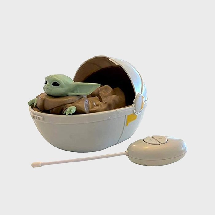 Star Wars The Mandalorian Baby Yoda In Pram