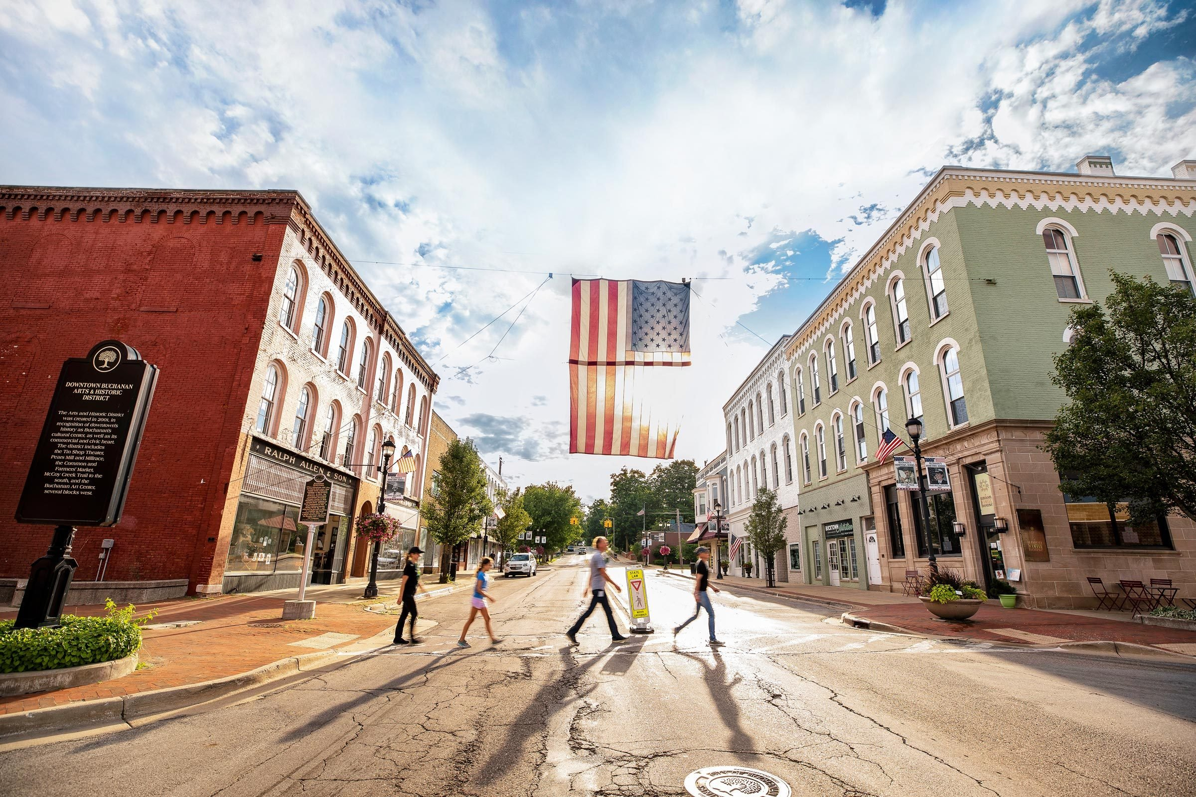 Main Street, Buchanan, Michigan