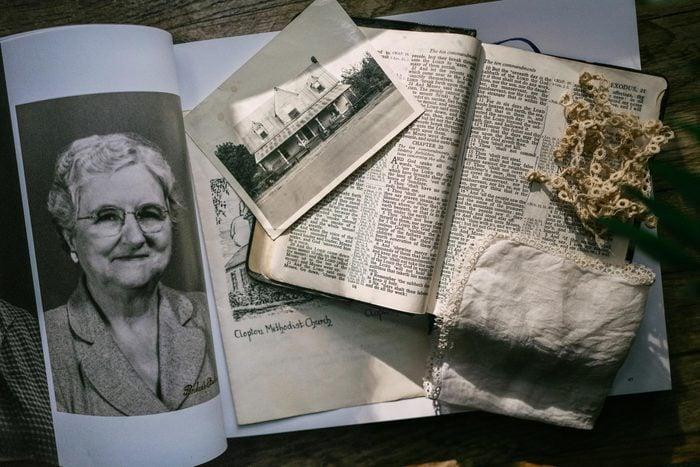Mother Ollie's mementos