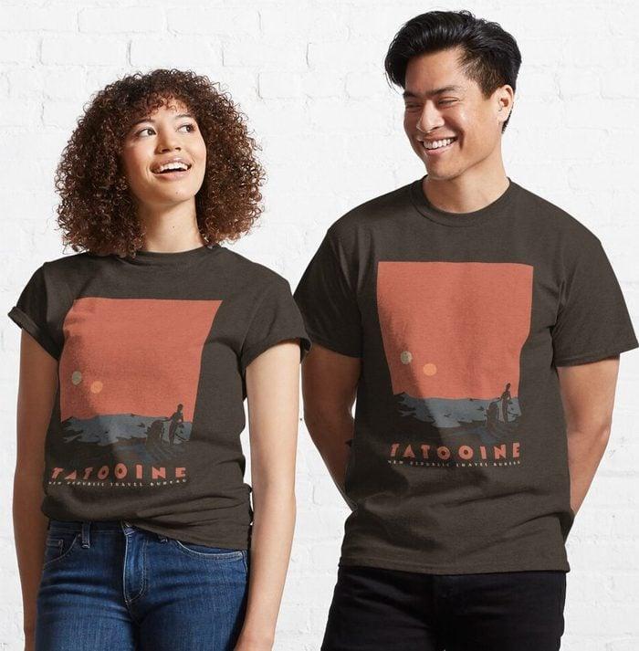 Visit Tatooine Classic T Shirt