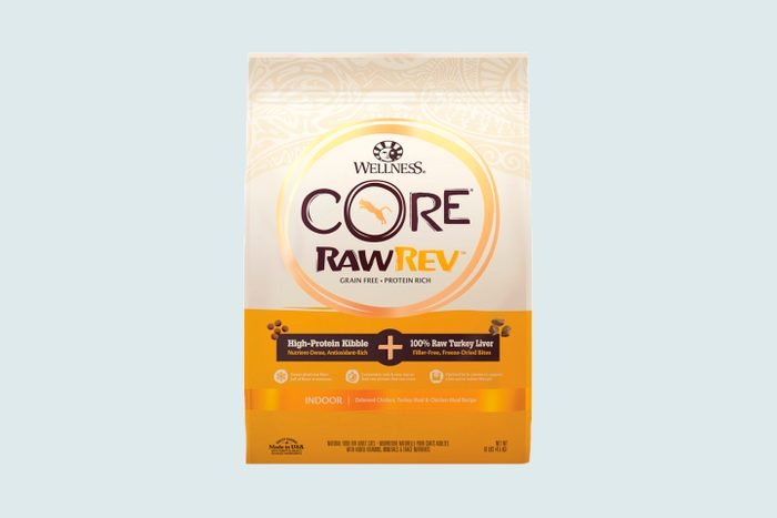 Wellness Core Rawrev Grain Free Indoor Recipe With Freeze Dried Turkey Liver Dry Cat Food