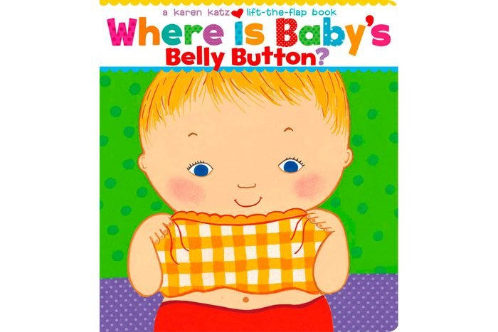 Where Is Babys Belly Button Lift The Flap Baby Book Cover