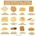 Your Favorite Fall Cookie, Based on Your Zodiac Sign