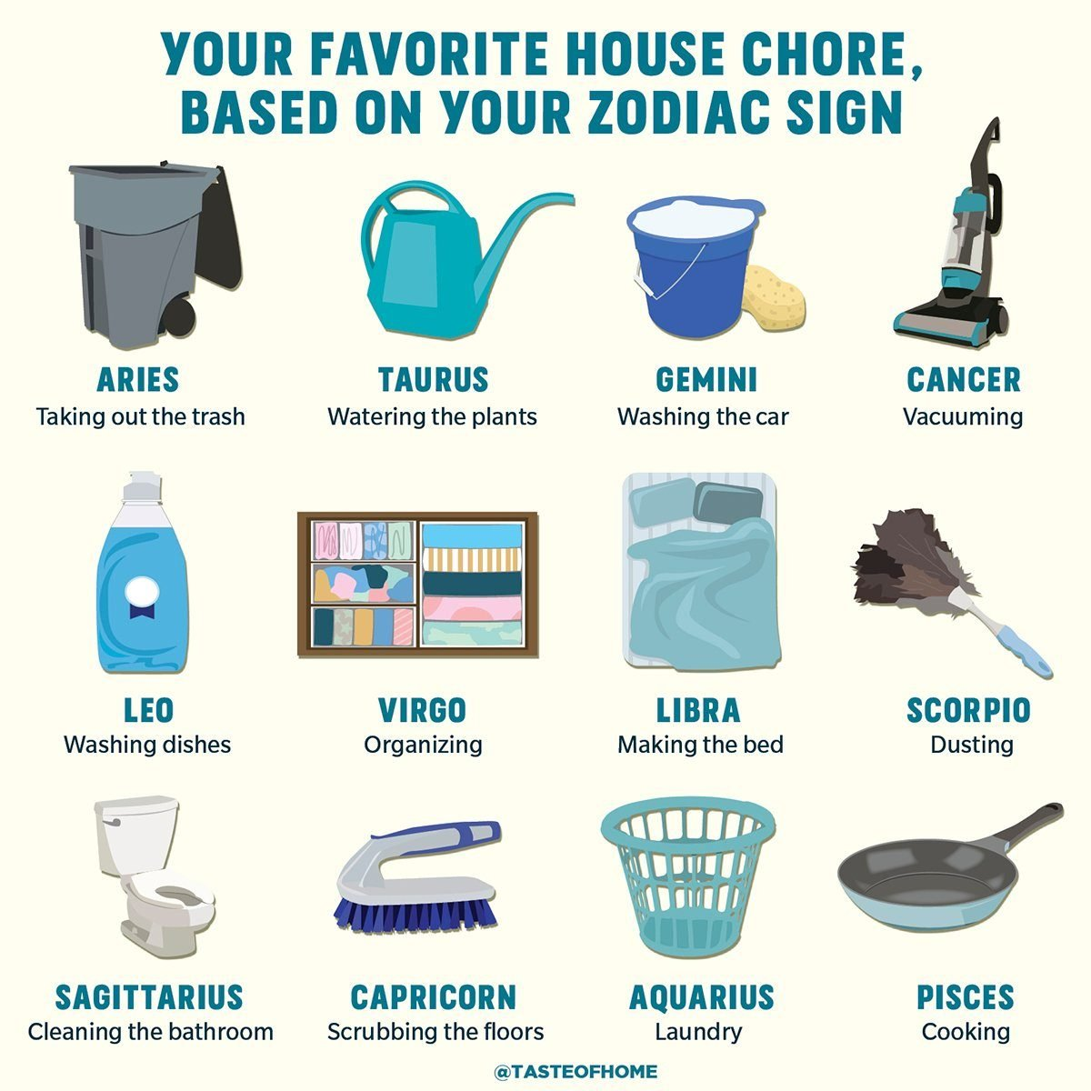 Your Favorite House Chore Based on Your Zodiac Sign_1200x1200