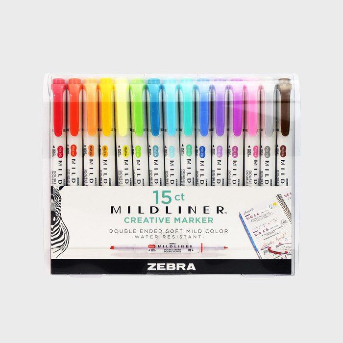 Zebra Midliner Creative Markers