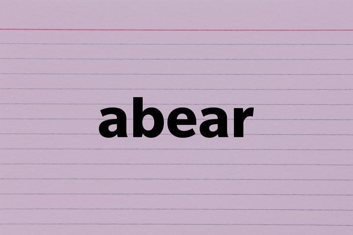 Abear