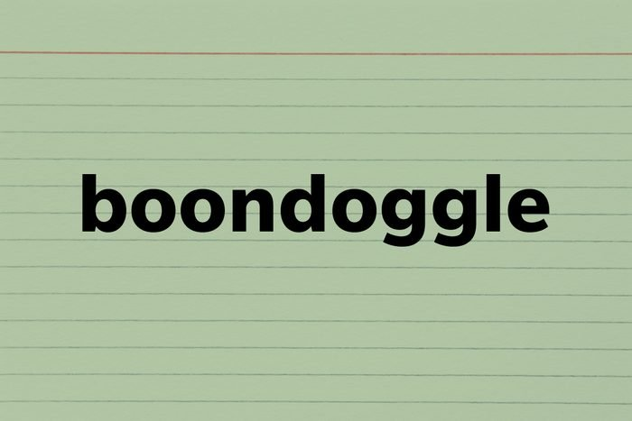 Boondoggle