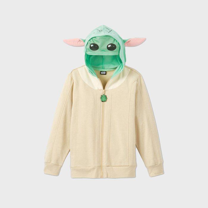 Boys' Star Wars The Mandalorian Baby Yoda Sweatshirt