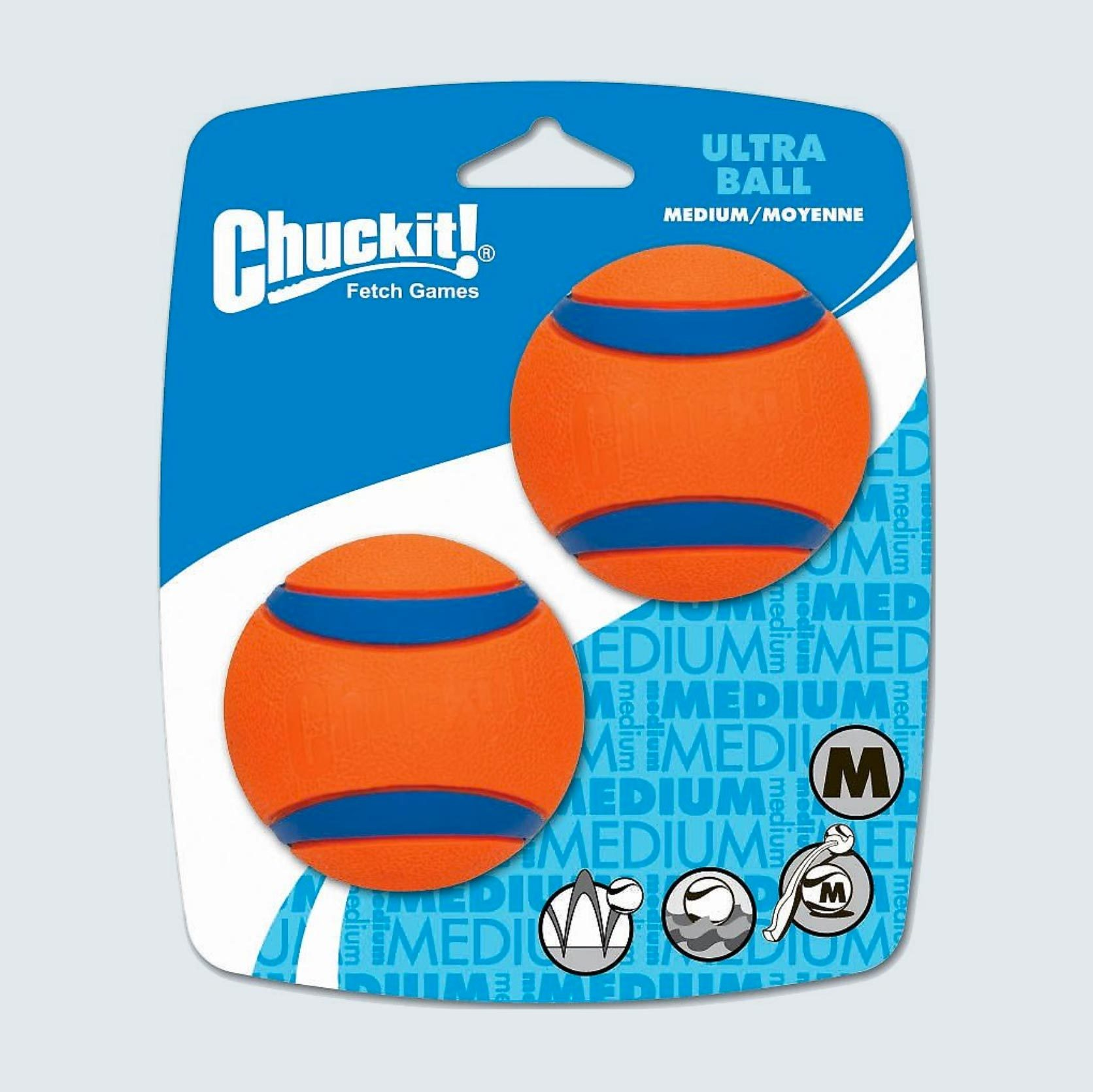 Chuckit! Ultra Rubber Ball Tough Dog Toy