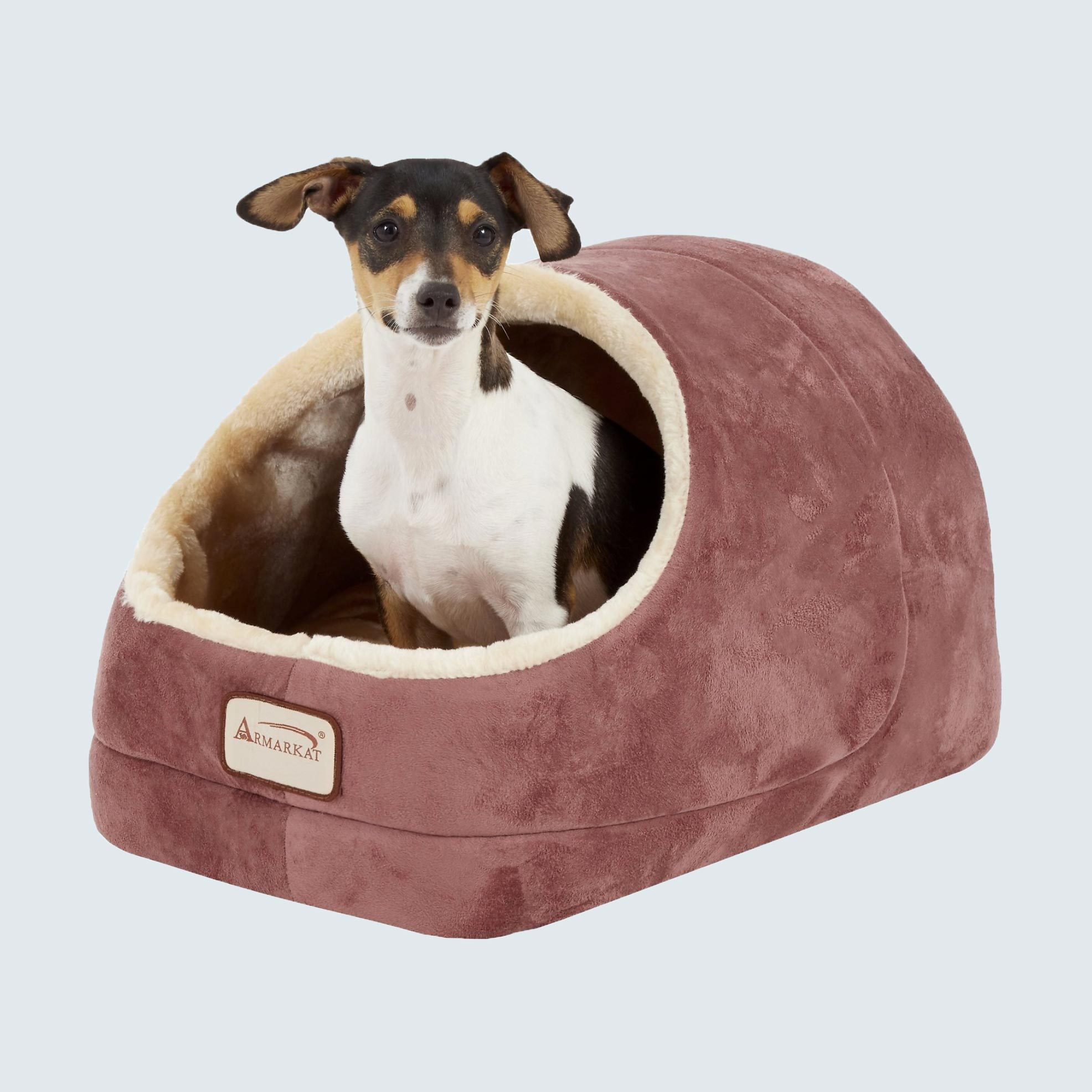 Armarkat Cave Shape Covered Cat & Dog Bed