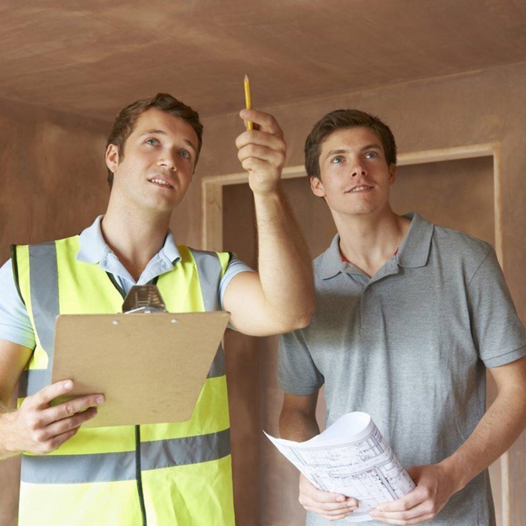 inspecting interior
