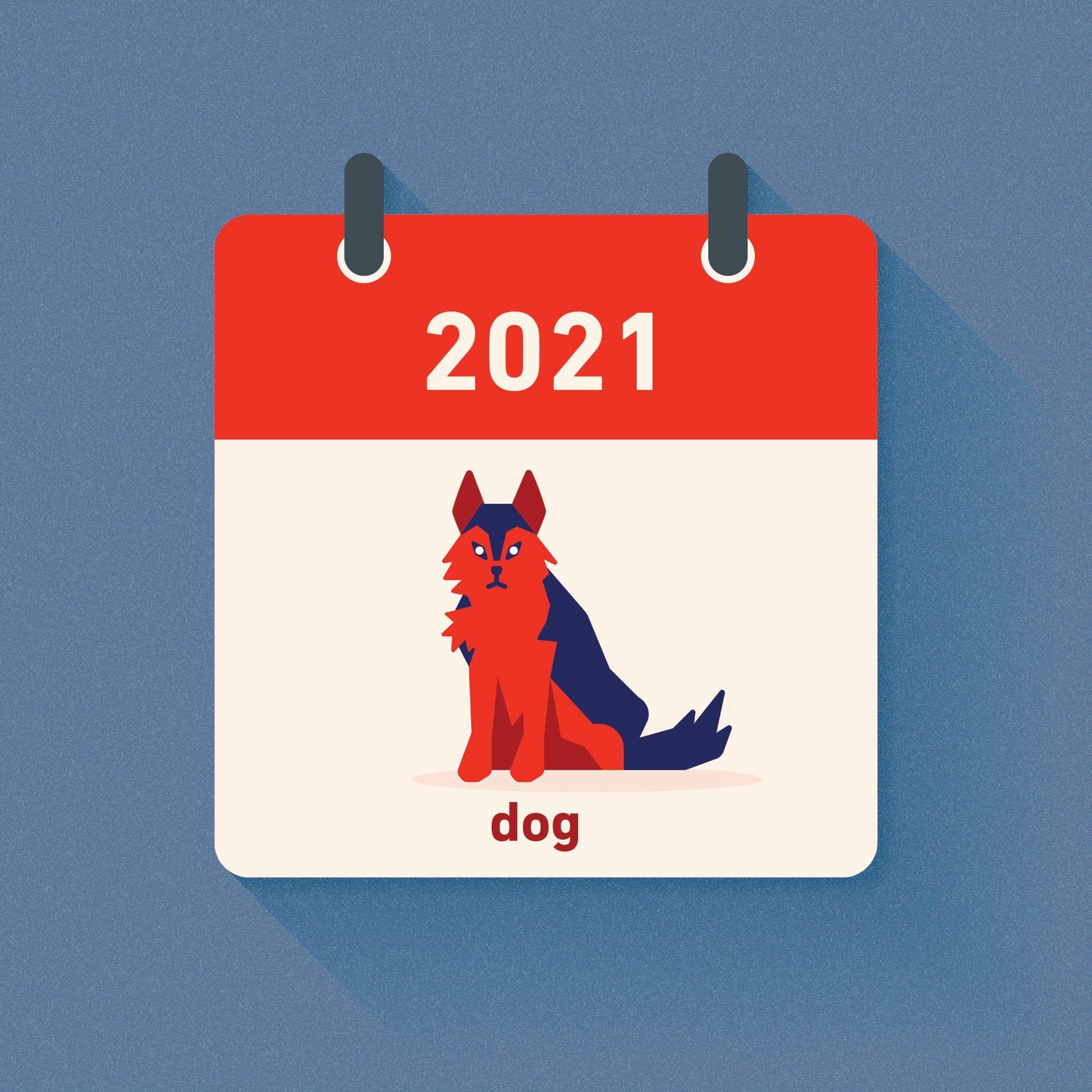 dog chinese zodiac 2021
