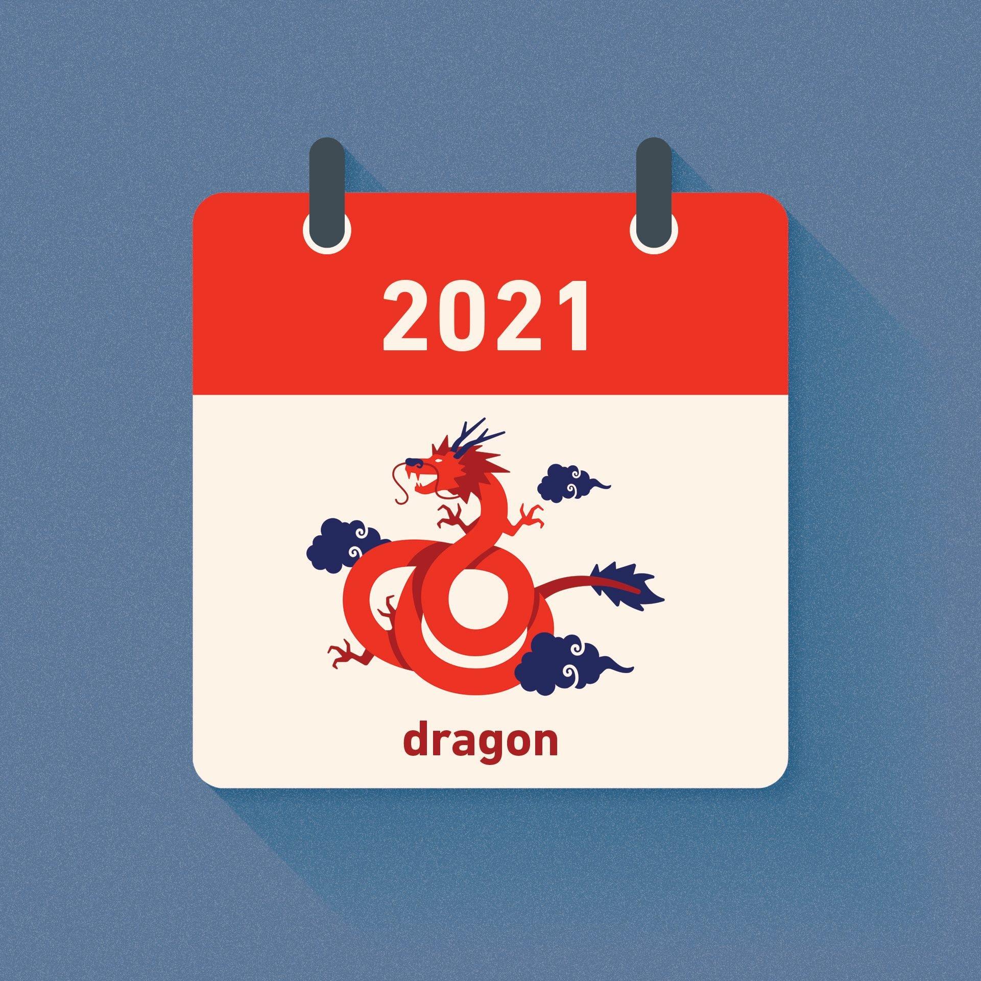 dragon chinese zodiac 2021