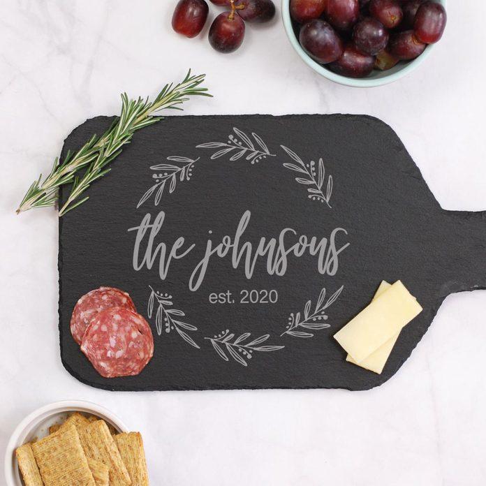 Custom Round Cheese Board