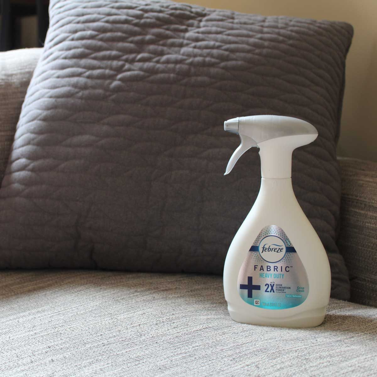 fabric refresher spray