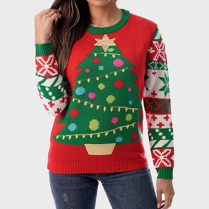 Followme Womens Ugly Christmas Sweater