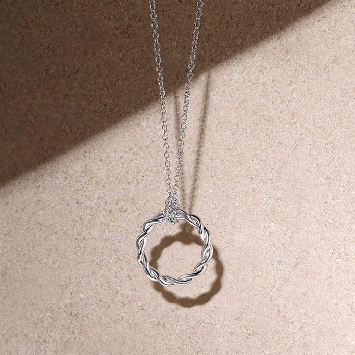 Gabriel & Co. Stronger Together Necklace