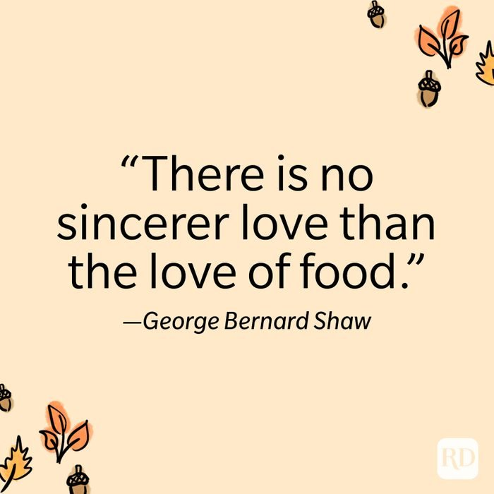 George Bernard Shaw Thanksgiving Quote