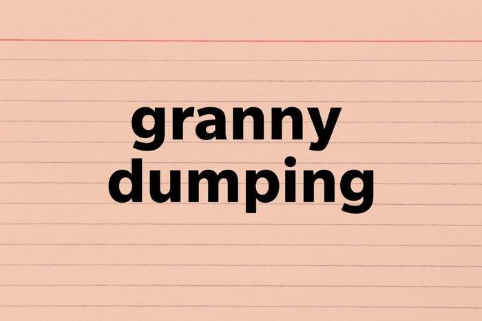 Granny Dumping