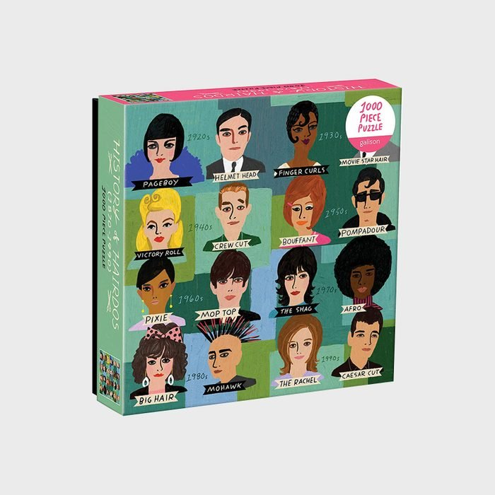 Hairdo History Puzzle Via Amazon