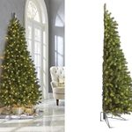 We Found Half Christmas Trees That Will Make Decorating So Much Simpler