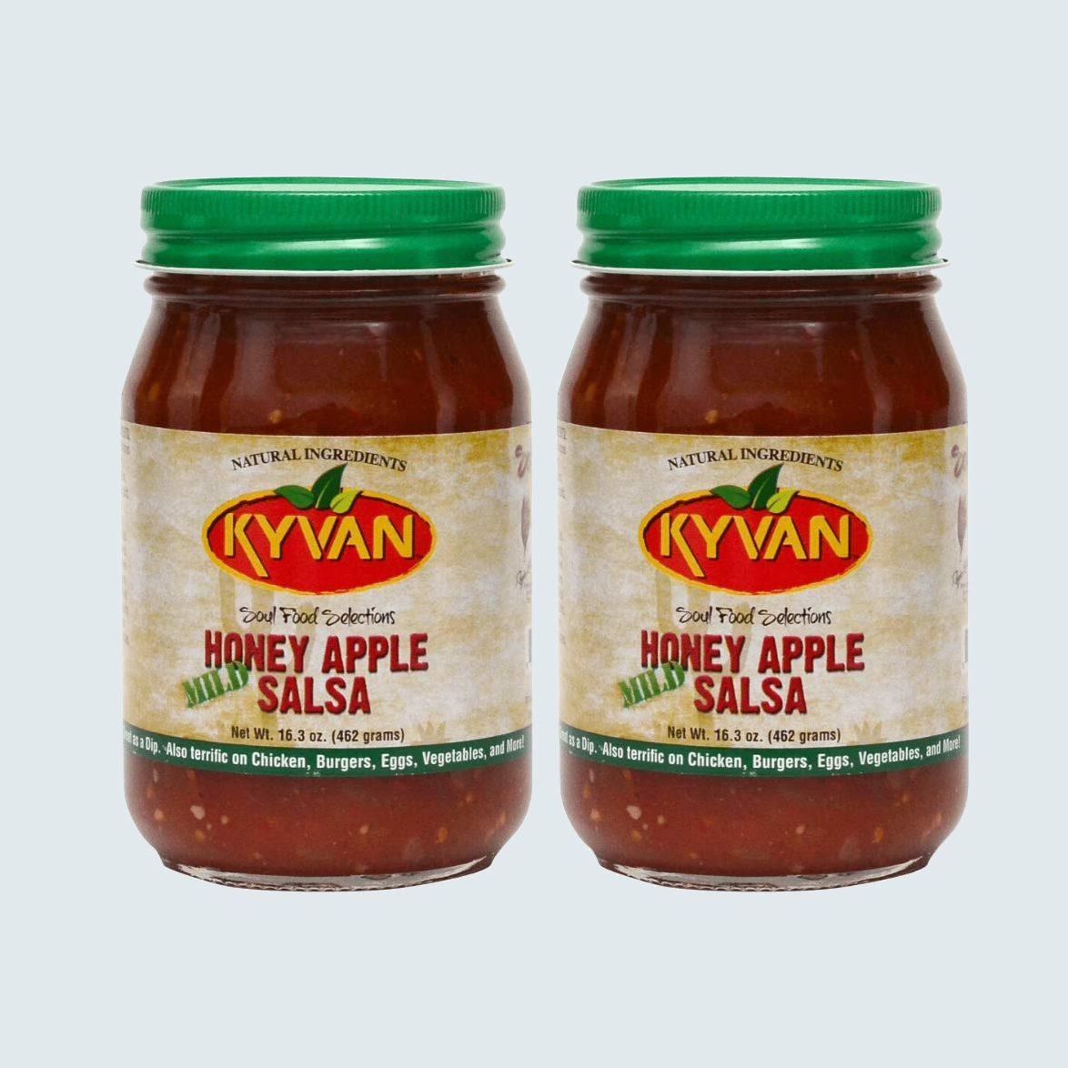 Kyvan Mild Honey Apple Salsa, 2-pack