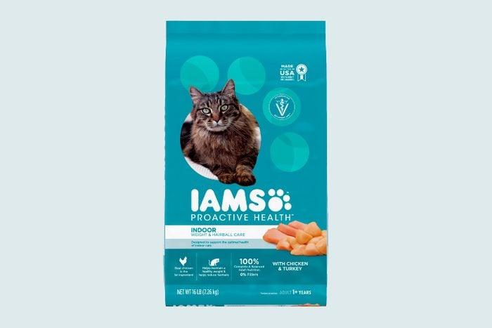 Iams Proactive Health Indoor Weight & Hairball Care Dry Cat Food