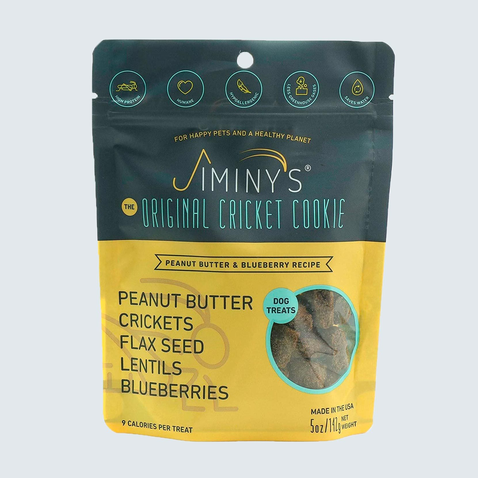 Jiminy's Cricket Protein Dog Cookies