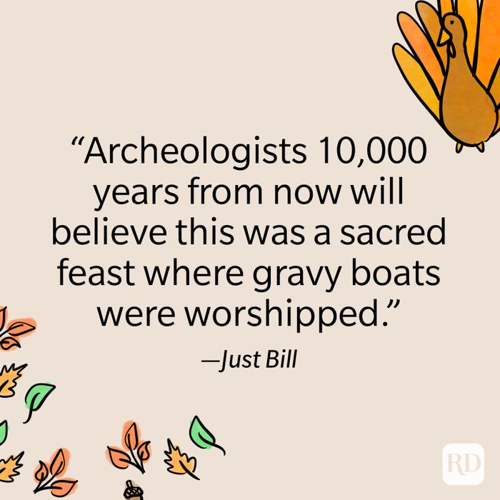 Just Bill Thanksgiving Quote