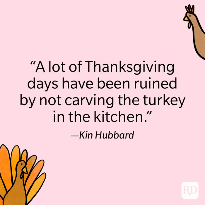 Kin Hubbard Thanksgiving Quote