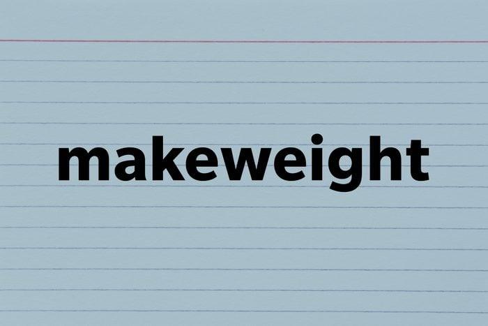 Makeweight