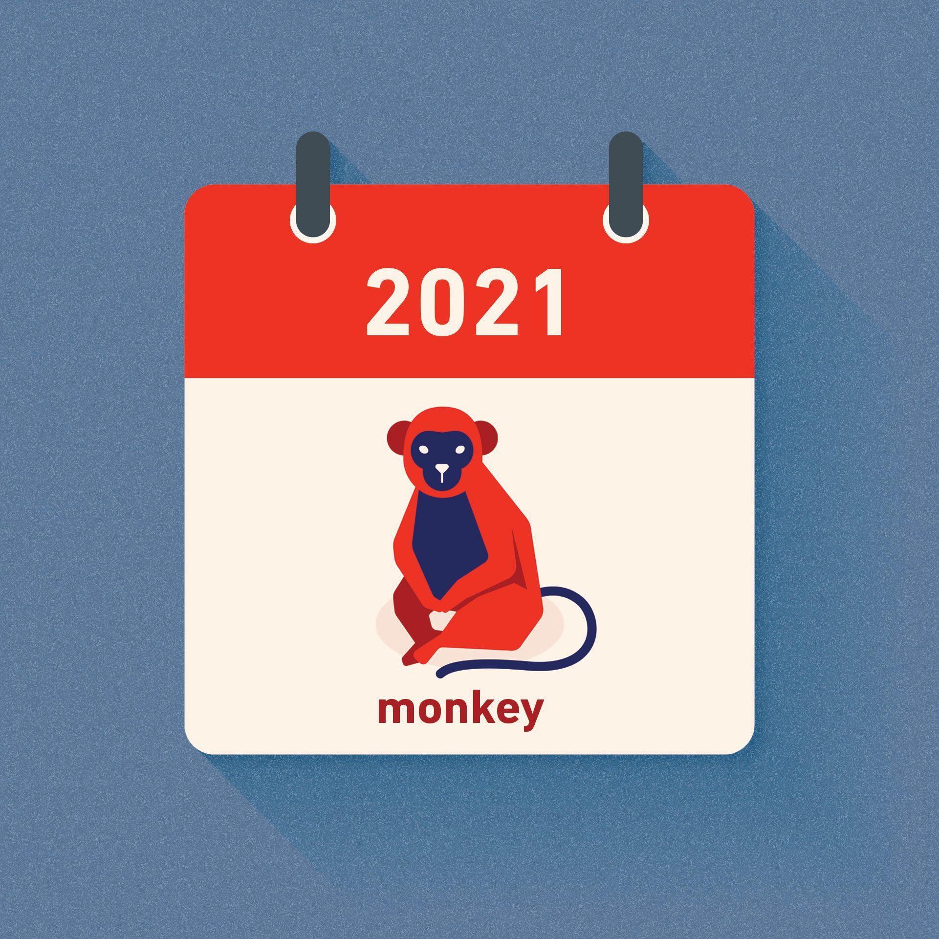 monkey chinese zodiac 2021