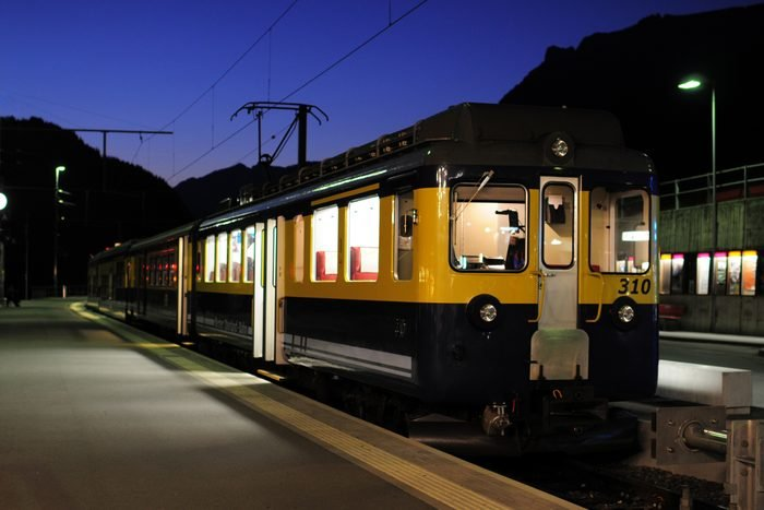 Night Scene of Trian Station - XLarge