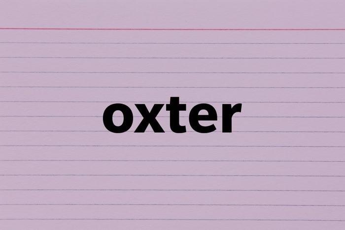 Oxter