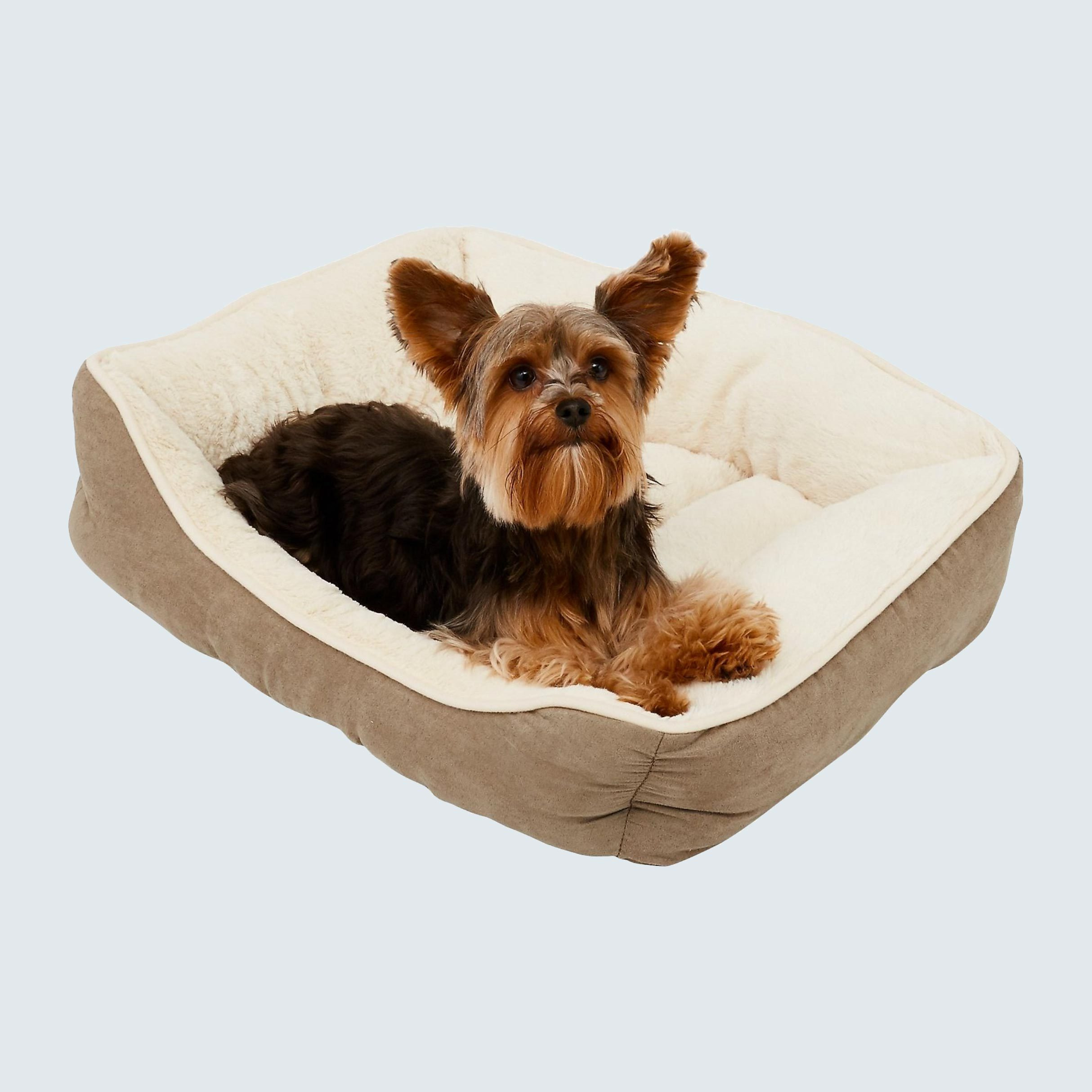 Frisco Rectangular Bolster Cat & Dog Bed