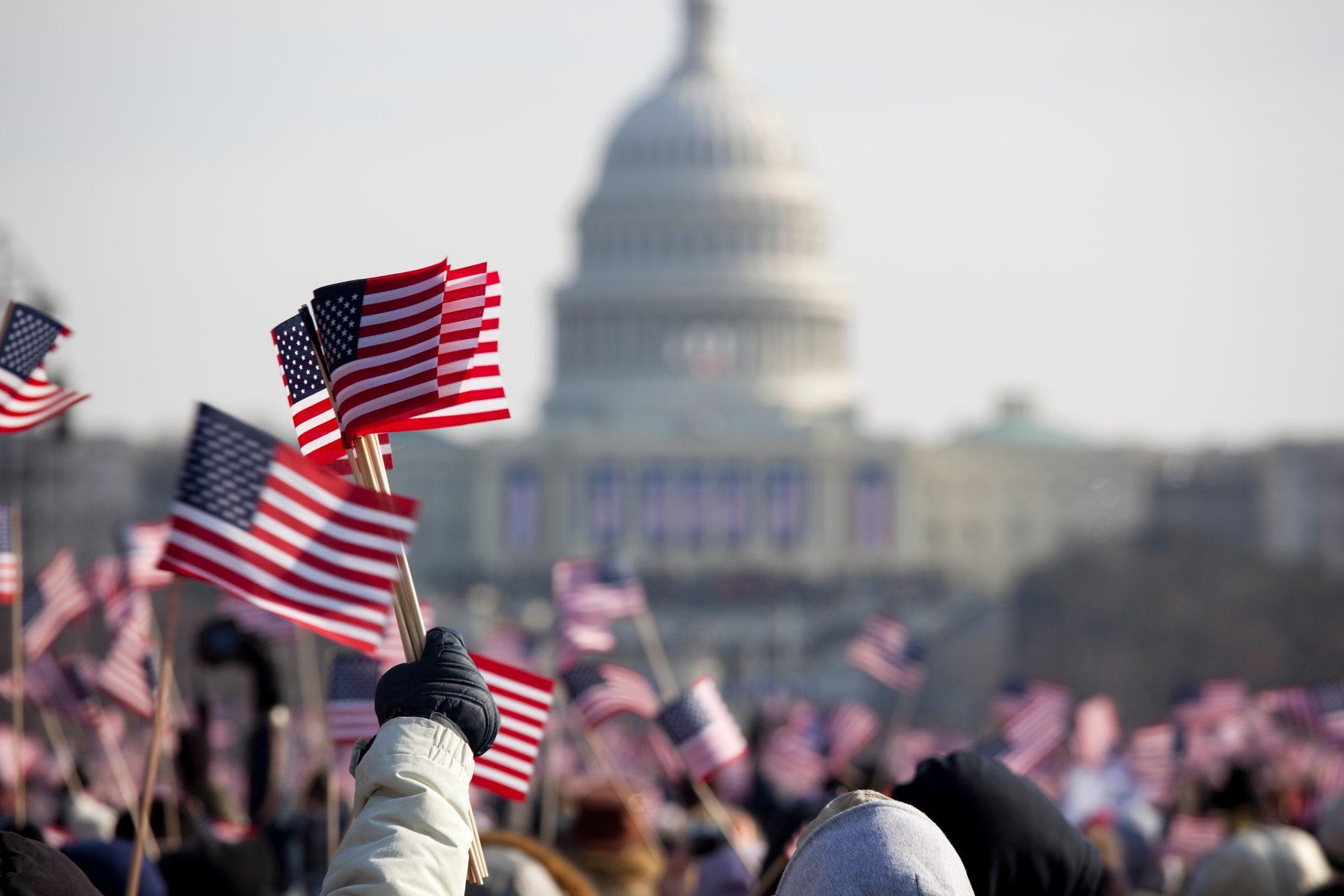 President Barack Obama's Presidential Inauguration at Capitol Building, Washington DC