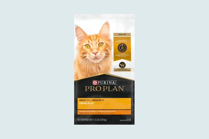 Purina Pro Plan Prime Plus Adult 7+ Chicken & Rice Formula Dry Cat Food