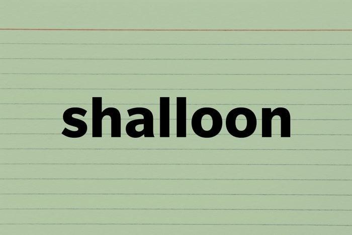 Shalloon